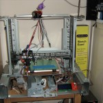Scratch Built 3d printer